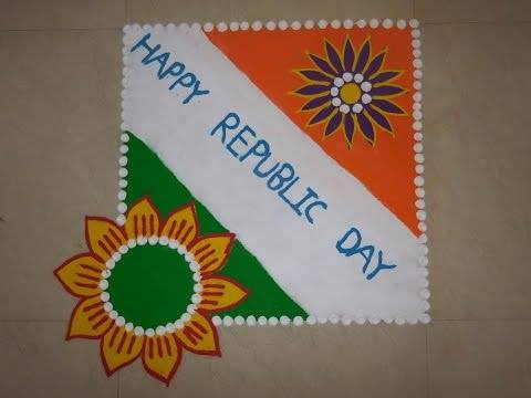 100 beautiful rangoli design for india independence day for Design republic