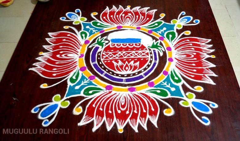 rangoli pongal kolam 2020 dot pulli simple easy new traditional peacock special small tamil kolangal muggulu