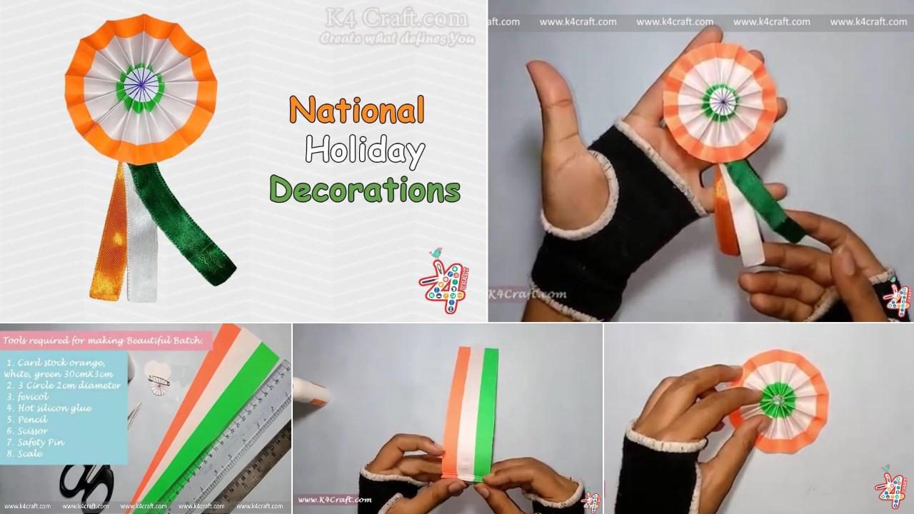 How to make Indian Tricolour