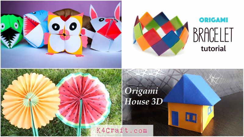Amazing Paper Craft Ideas For Kids To Try This Vacation K4 Craft