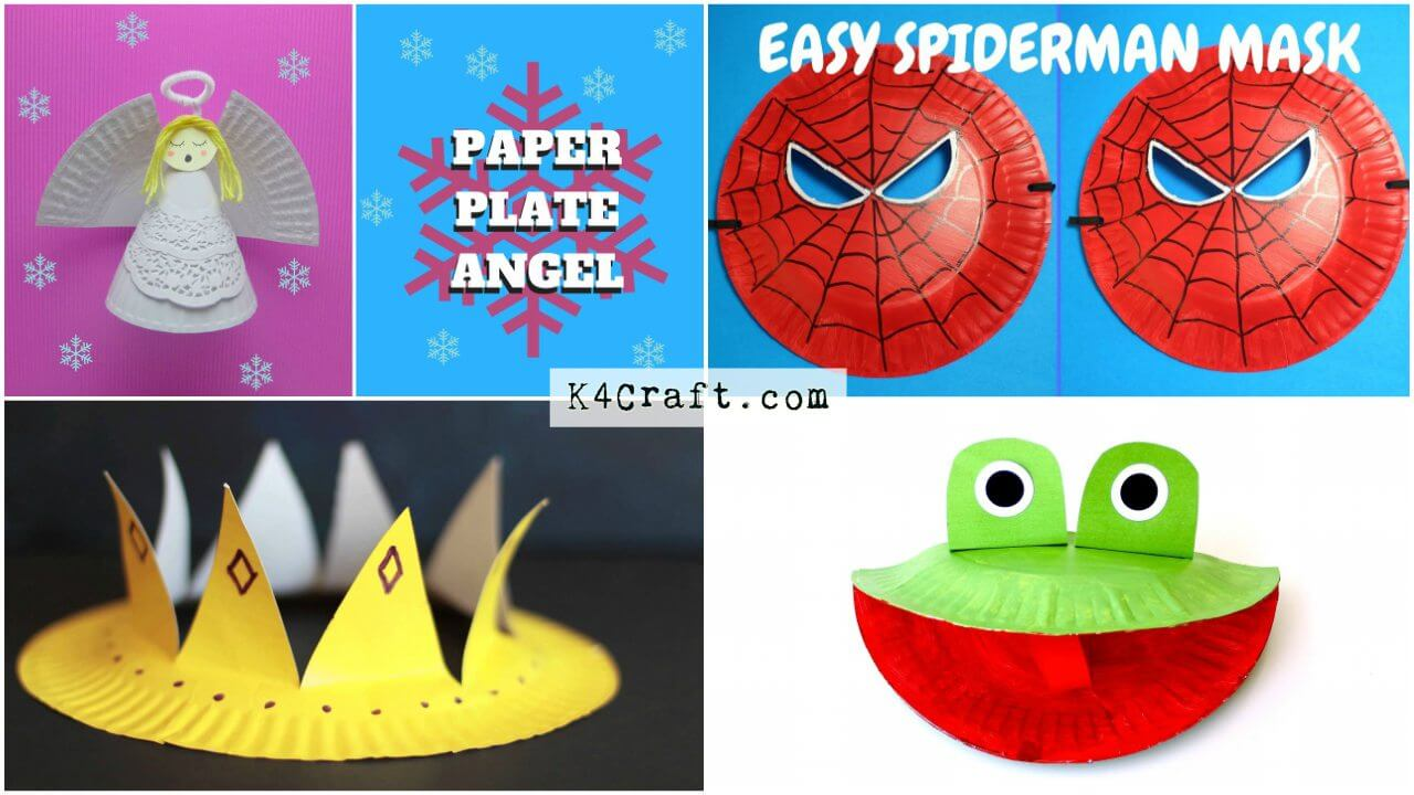 Easy Craft Ideas For Kids Using Paper Plates K4 Craft