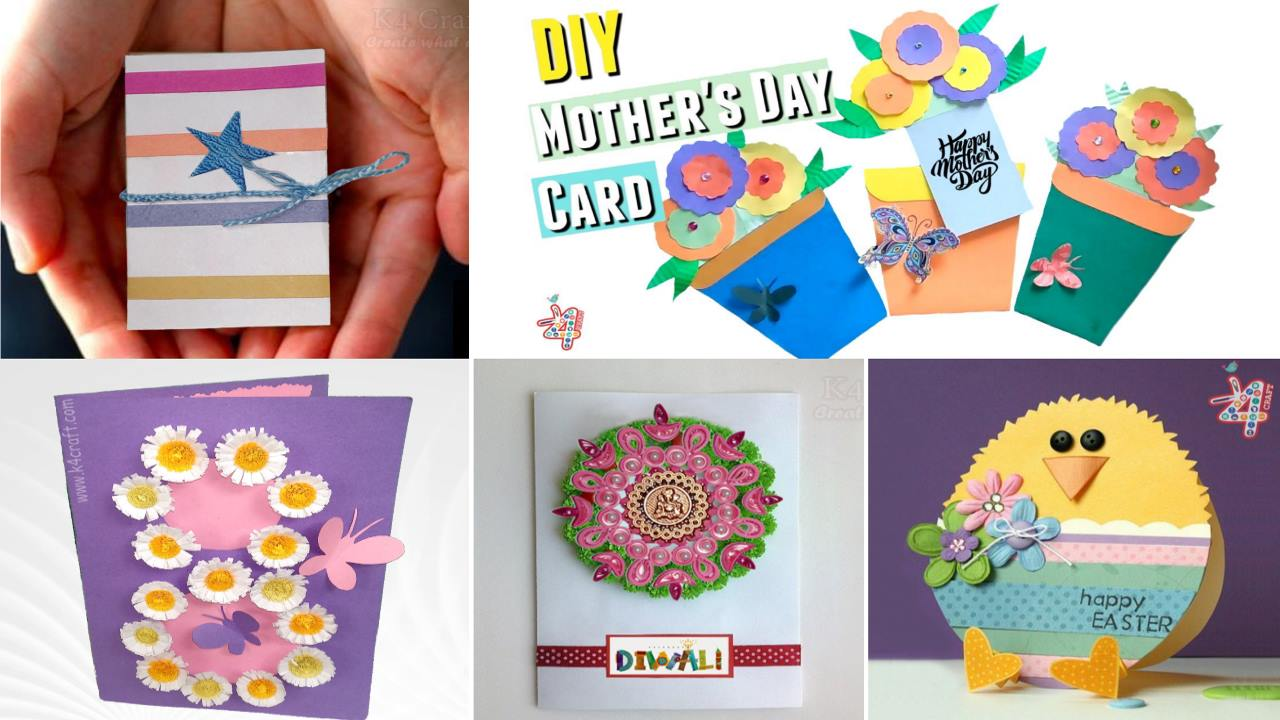 Easy diy how to make greeting card for special occasion k4 craft easy diy how to make greeting card for special occasion m4hsunfo