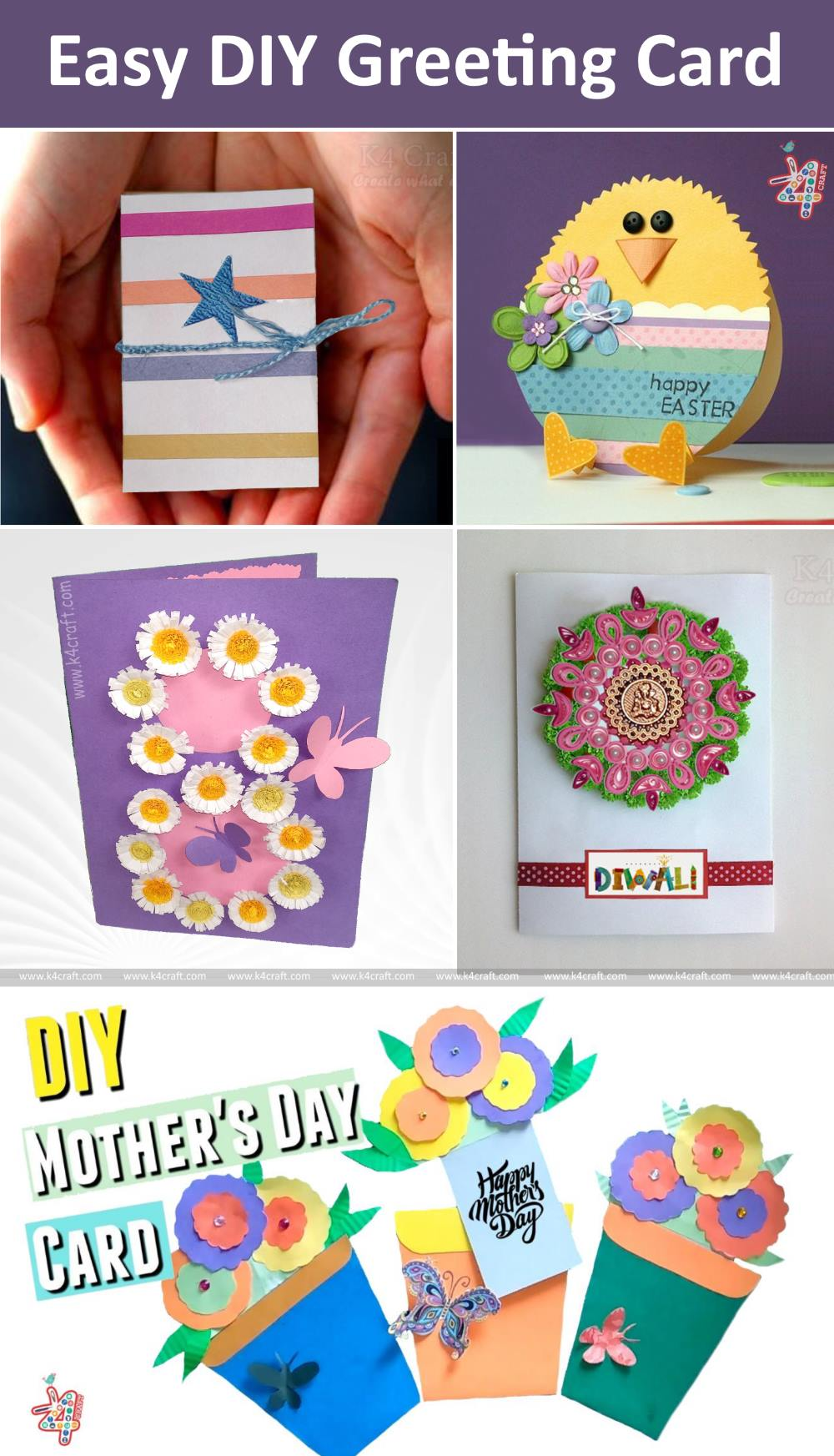 Easy Diy How To Make Greeting Card For Special Occasion K4 Craft