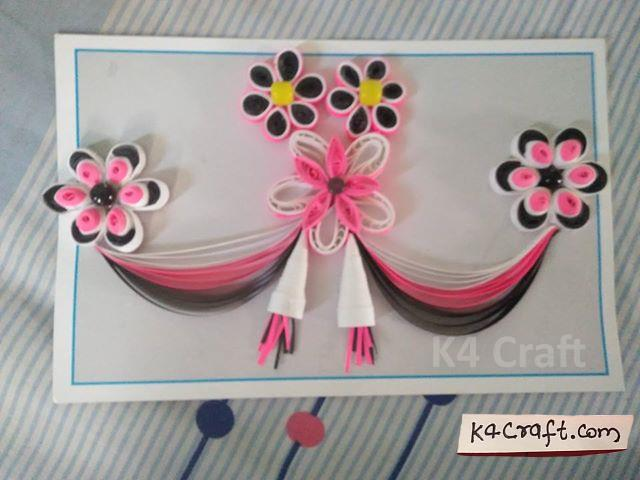 quilling card for mother by shubhangi kautkar k4 craft