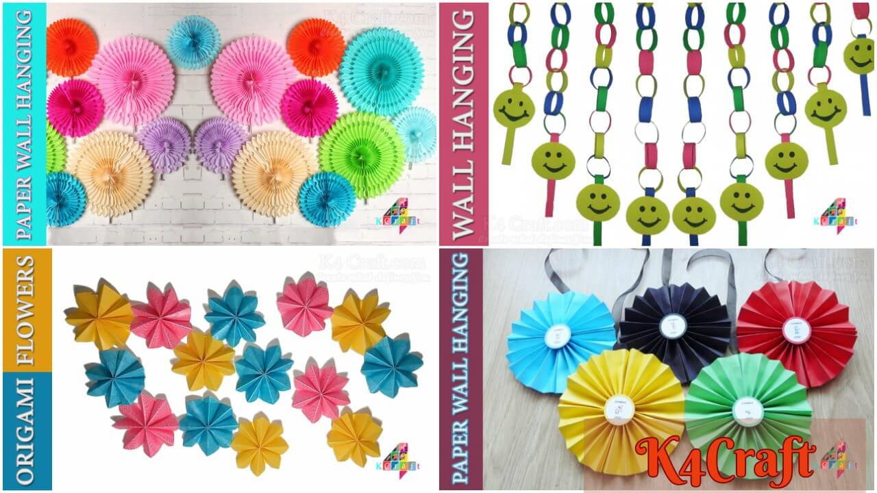 Stylish Wall Hanging Art Craft Ideas To Decorate Your Home K4 Craft