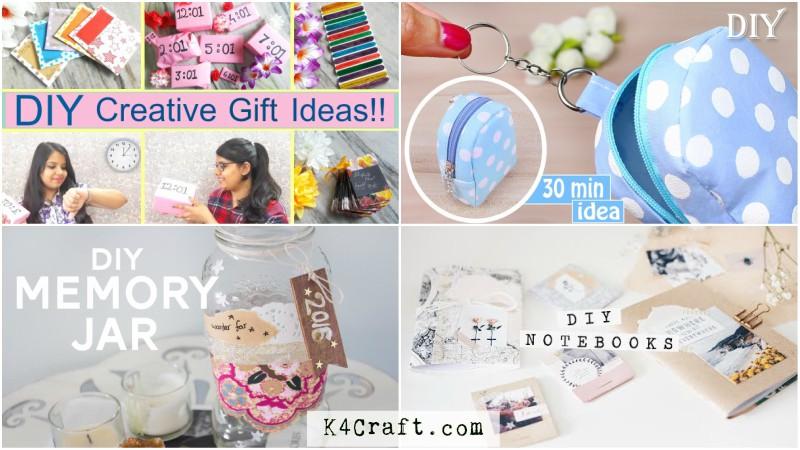 Diy Handmade Gift Ideas For Friends K4 Craft