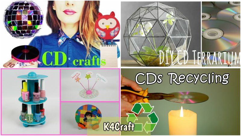 Make Best Out Of Old Cds With These Amazing Ideas K4 Craft