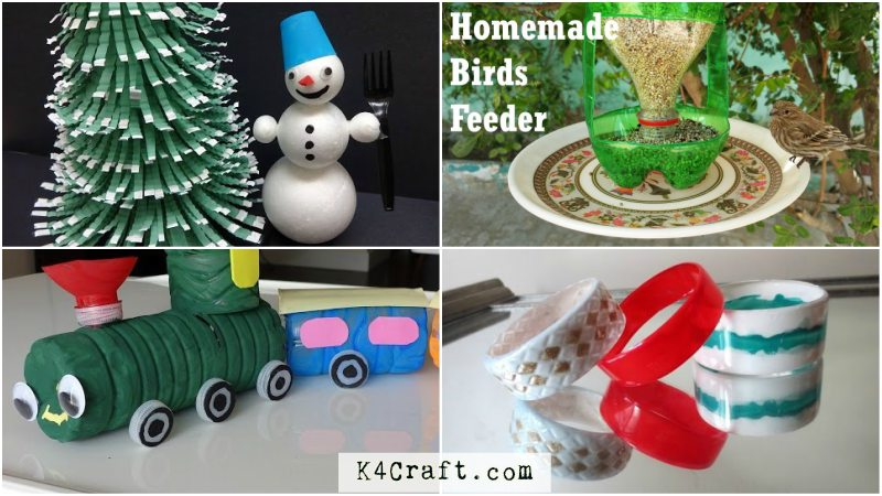 Recycled Bottle Craft Ideas For Kids K4 Craft