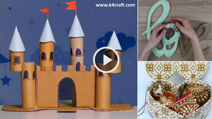 DIY Cool Homemade Cardboard Craft Ideas