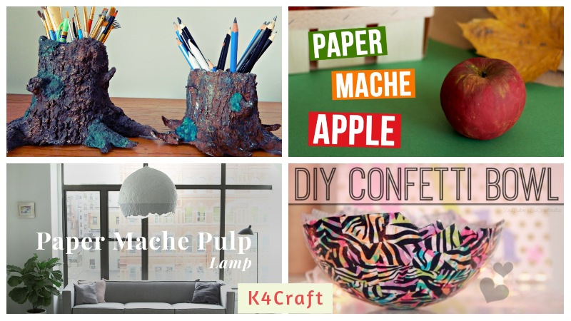 Paper Mache Art To Decorate Your Home
