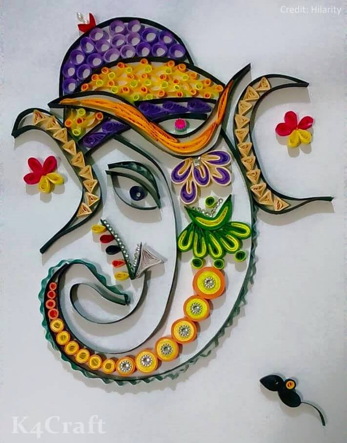 27 Easy Craft Ideas To Celebrate Ganesh Chaturthi With Kids K4 Craft