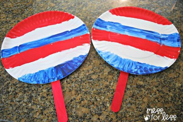 Fun and Easy Fourth July Kids Crafts Ideas to celebrate american independence day